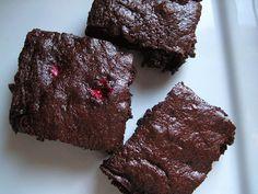 Cranberry Fudge Brownies