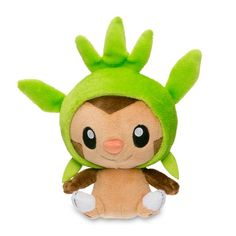 Official Chespin Poké Doll. Done in the round-headed Poké Doll style, this…