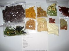 Homemade Backpacking Meals | Homemade Dehydrated Backpacking Food ( MREs)