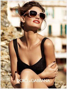 Dolce & Gabbana S/S 2012 Eyewear Ad
