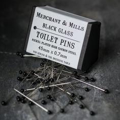 Toilet pins