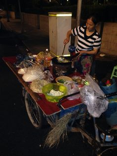 Typical Chinese street grub
