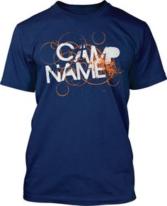 Church Camp T-Shirt Design