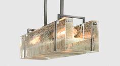 Pendants   Chandeliers - Alison Berger Glassworks 22 x 6 x 5 $14.7 retail