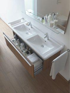 Duravit - Serie per il bagno: Lavabi consolle - Lavabi per mobile di Duravit