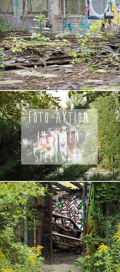 In einem alten Stellwerk gibt es viel zu sehen und es ist der perfekte Ort um die neue Kamera auszuprobieren.