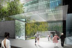 MoMA Sculpture Garden entrance