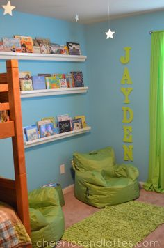 bookshelves made from rain gutters - Google Search
