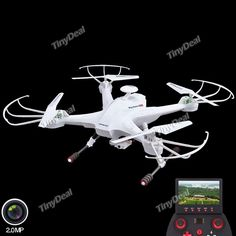 LIAN SHENG LS-128 2.4GHz 6-axis FPV Drones Quadcopter with 2MP Camera 5.8GHz LCD Screen RTF TRC-378401