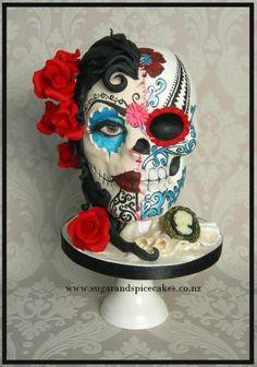 Maya - Dia de los Muertos - Sugar Skull Bakers 2014