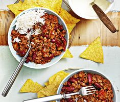 vegetarisk chili con soja