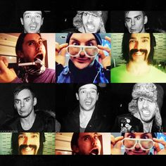 A serious band #MARScollage