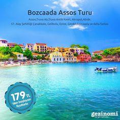 Haftasonu kimseye söz vermeyin, harika bir planımız var!  Bozcaada Assos Turu ile doğaya ve maviye doyuyoruz.   Bilgi almak için 📞 0850 466 77 44  #bozcaada #assos #doğa #mavi #tatil #vacation #travel #holiday