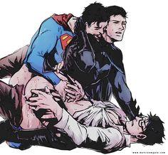 SupermanxBatman yaoi - Buscar con Google