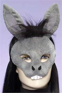 Donkey Face Mask Template