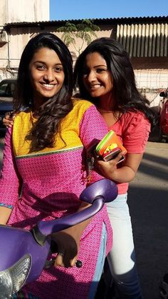 Priya Bhavani Shankar and Sharanya