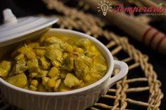Curry de frango com milho e leite de coco | trocar milho enlatado por in natura orgânico ;) | #frango #leitedecoco