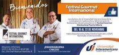 Festival Gourmet Internacional. Universidad Interamericana.