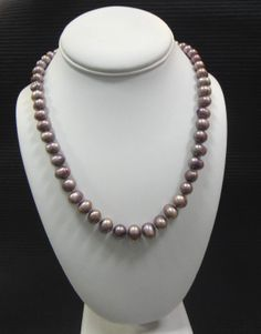 Add some color to your pearls!  #Pearls #Necklace #Handmade #Jewelry #IowaCity