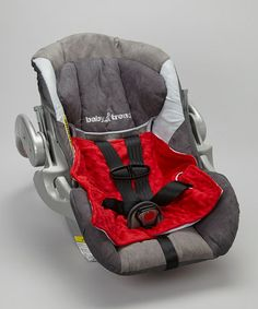 This Red Dri-Seatzzz Car Seat Pad by Road Tripzzz is perfect! #zulilyfinds