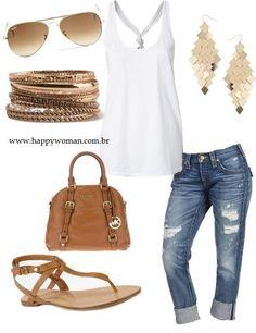 Easy Spring Mom Fashion featuring every mom essential: flats!