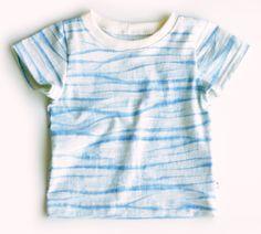 Organic Shibori Baby Boy T-Shirt