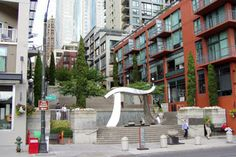 Harbor Steps. Live in Seattle http://www.bluefernproperties.com/listings/areas/68325/