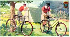 Cycle camping in 1939