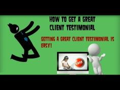 how to get great client testimonials