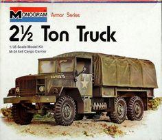Plastic Model Kits, Plastic Models, Vintage Models, Vintage Toys, Monogram Models, Wood Toys Plans, Model Tanks, Vintage Monogram, Box Art