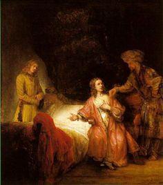 1655 José y la mujer de Putifar.