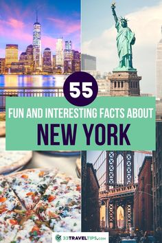 Planning a trip to New York? Ready to discover New York City's most intimate secrets? Click to learn more. Fun Facts About New York | Interesting Facts About New York | Things You Should Know About New York | NYC Travel | NYC Travel Guide | NYC Travel Tips | New York Travel |