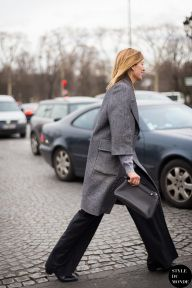 Paris Fashion Week FW 2014 Street Style: Virginia Smith