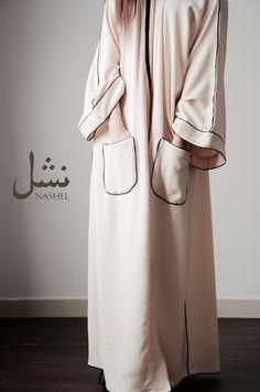 nashel abaya من مجموعتنا الجديدة - Tesettür Hırka Modelleri 2020 - Tesettür Modelleri ve Modası 2019 ve 2020 Abaya Fashion, Modest Fashion, Fashion Outfits, Mode Abaya, Mode Hijab, Kaftan Abaya, Abaya Designs, Modest Wear, Muslim Dress