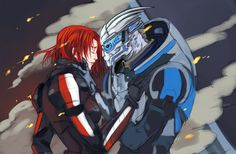 There's No Shepard Without Vakarian