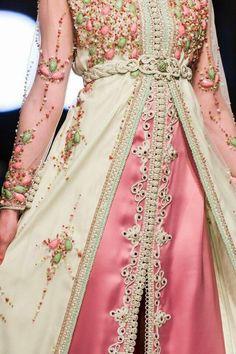 Caftan Marocain Moderne 2015 : Modèles Perlés