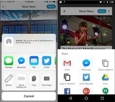 Flipboard (iOS/Android) ahora permite compartir artículos en Facebook Messenger