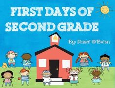 Just thought I'd put together some cute and fun activities for your second graders to do the first few days of school