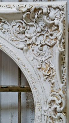 Beautifully carved frame work