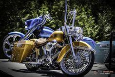 Nice Harley Davidson at Riverside Custom Bike Show!
