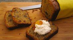 Pompoenbrood met rumrozijnen
