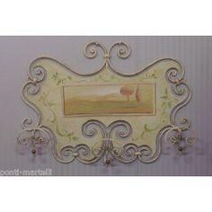 cm 76 x 748 Coat Hanger, Wrought Iron, Furniture, Landscape, Home Decor, Closet Hangers, Hanger, Landscape Paintings, Interior Design