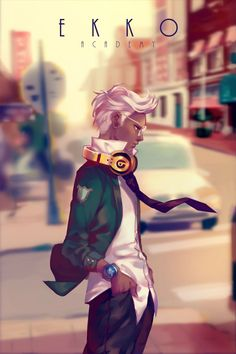 Academy Ekko #ekko #lol #leagueoflegends