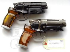 """Blade runner prop gun """"For those that wonder, if you look close at my logo...this is the pistol"""" John S. (aka MacAttack001 on YouTube)"""