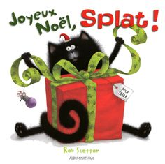 Joyeux Noël, Splat! - Rob Scotton - plaatsnr. JF SCOTT/004 #Jeugdliteratuur #Frans #Kerstmis