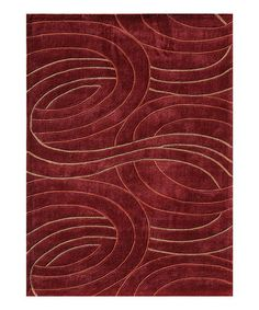 Look what I found on #zulily! Red Grant Rug #zulilyfinds