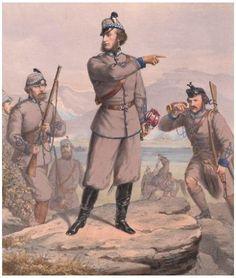 15th Middlesex (London Scottish) Rifle Volunteers- Lord Elcho, M.P., Lieut Colonel- Commandant c1860