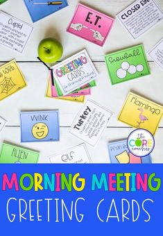 #morningmeeting #morningmeetinggreeting