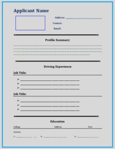 ReceptionistResumeTemplate  Resume Templates    Template
