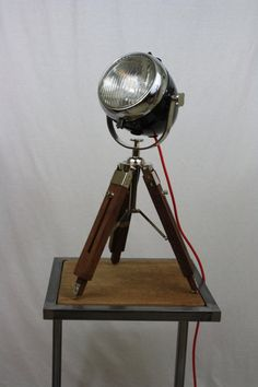 ebbc8ec798f Vintage Ural Motorcycle Headlight Table Lamp Farol De Motocicleta